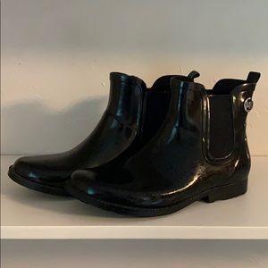 Michael Kors Ankle Rain Boots Wellies. Size 9